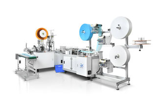 Inner Earloop PLC 70pcs/Min Automatic Face Mask Manufacturing Machine