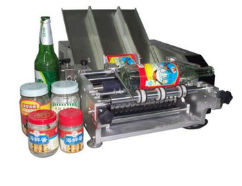 Trung Quốc Plastic Bottle Labeling Machine , Semi Auto Pneumatic Sticker Applicator Machine nhà máy sản xuất