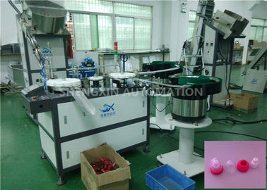 Wooden Cap Assembly Machine , Automatic Closing Fraise Machines